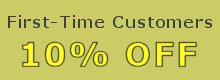 First-Time Customers 10% OFF - No coupon needed!